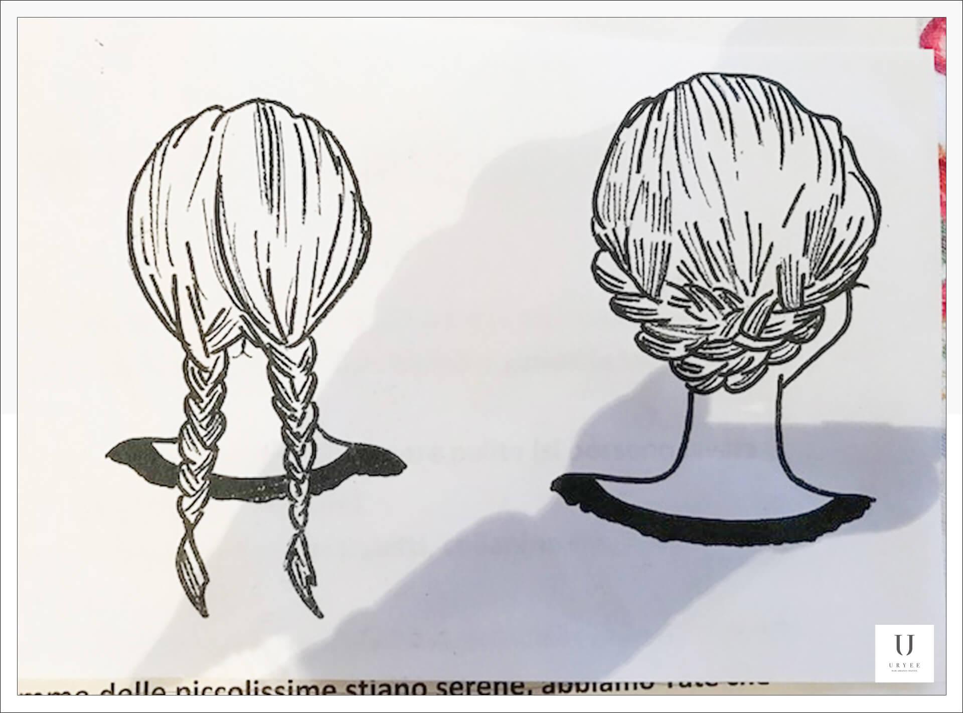 バレエ学校 子供 髪型