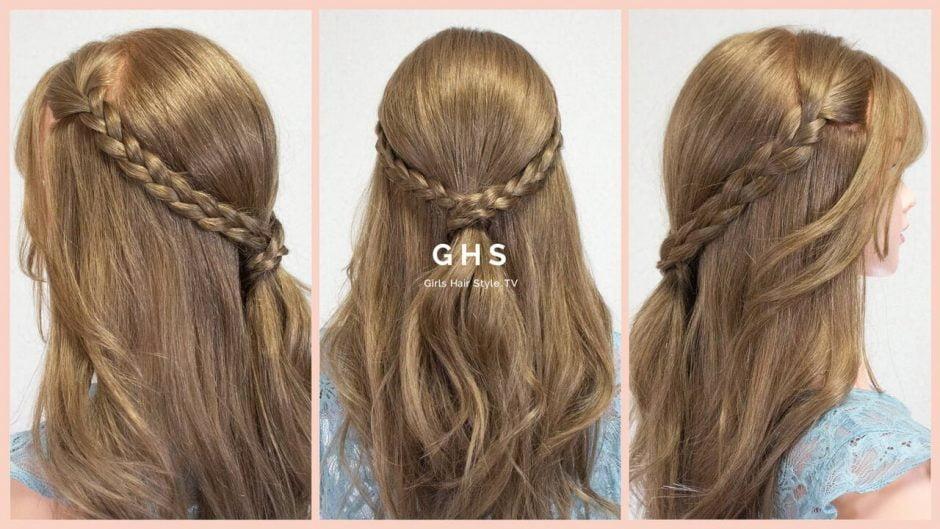 髪を結ぶ 頭痛 ピン 使わない ヘアアレンジ
