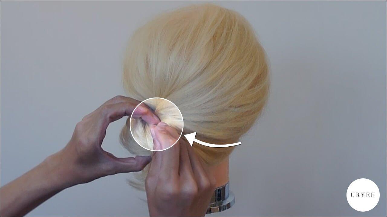 まとめ髪 簡単 ヘアアレンジ やり方