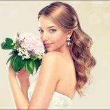結婚式 髪型 ロングヘアアレンジ